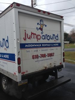Jump Around Inflatable Delivery