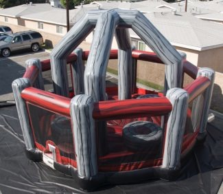 Wrecking Ball Inflatable Set Up