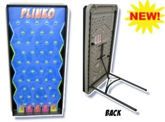 Blue Plinko Game