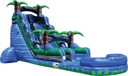 22ft Tsunami Blue Crush Water Slide