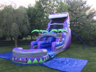 18' Purple Crush Water Slide