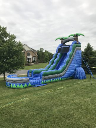22′ Tsunami Blue Crush Water Slide