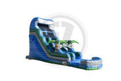 20' Blue Crush Water Slide
