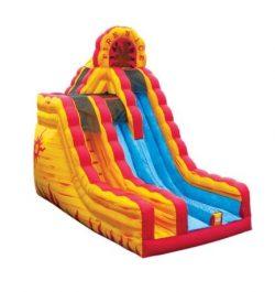 20′ Fire n Ice Dry Slide
