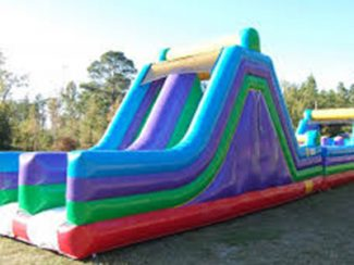 30′ Rock Climb & Slide